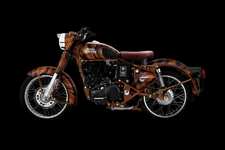 Royal Enfield Classic Desert Storm - Stephen Smith Galleries