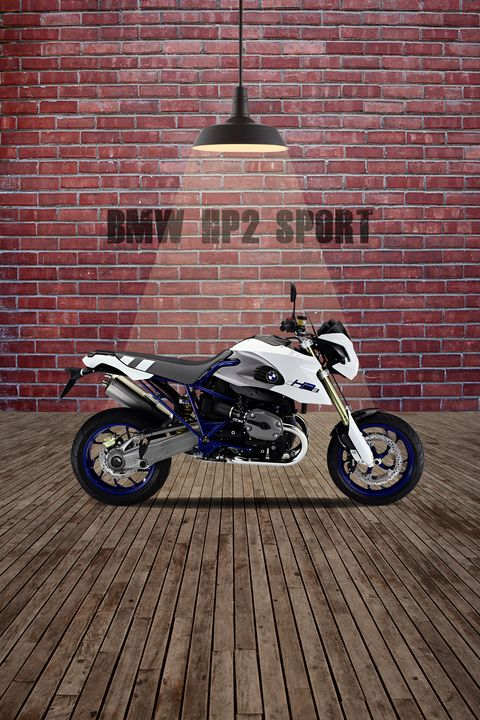 BMW HP2 Sport Red Wall - Stephen Smith Galleries