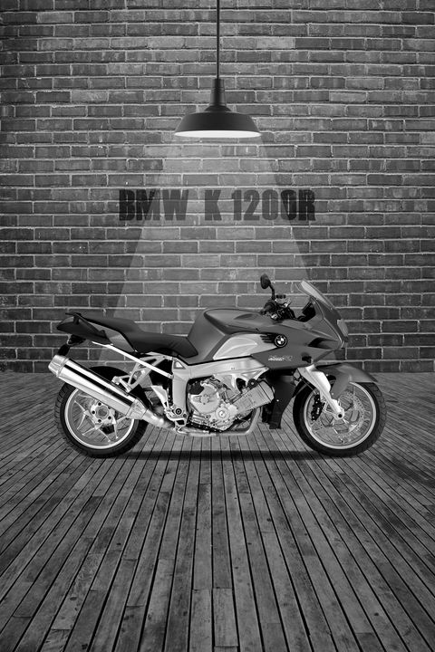 BMW K1200R Red Wall - Stephen Smith Galleries