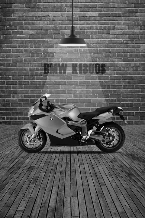 BMW K1300S Red Wall - Stephen Smith Galleries
