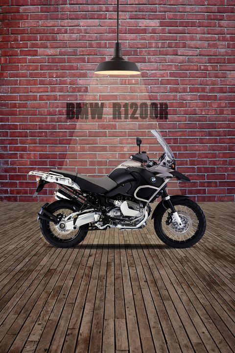 BMW R1200R Red Wall - Stephen Smith Galleries
