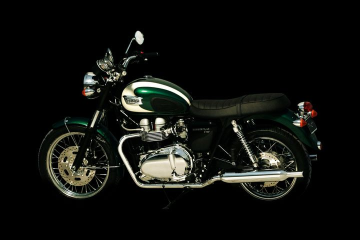 Triumph Bonneville T100 - Stephen Smith Galleries