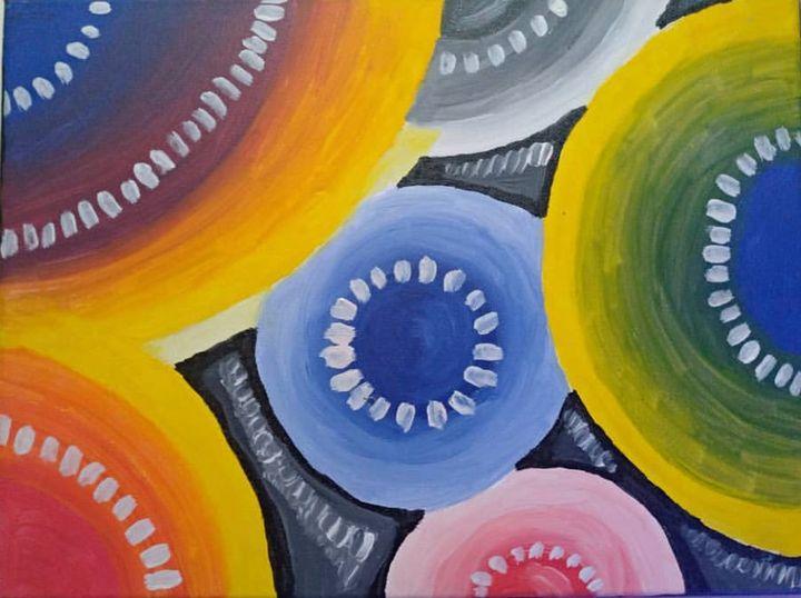 Color in Circles (2014) - Pinta ni Deo
