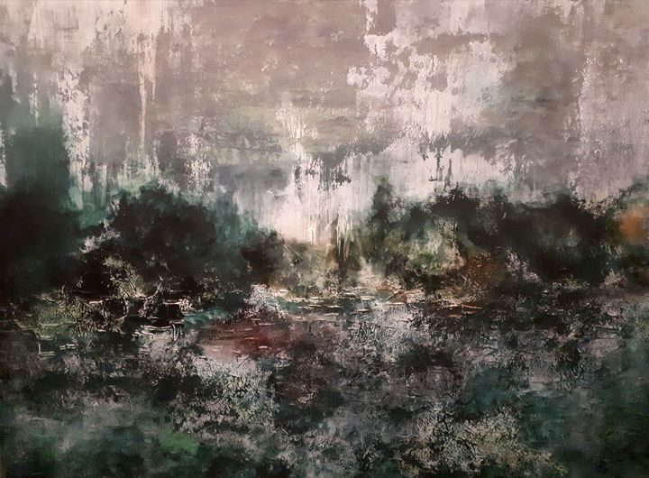 Viridian - Magdalena Knight Art
