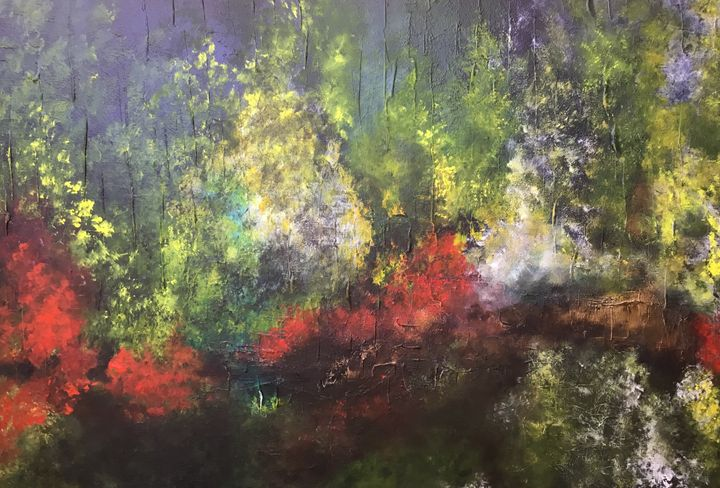 Touch of nature - Magdalena Knight Art