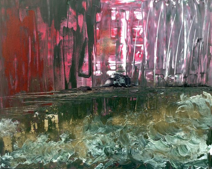 Bloody Mess - Magdalena Knight Art