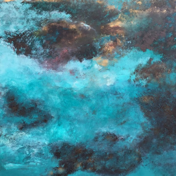 Deep in Clouds - Magdalena Knight Art