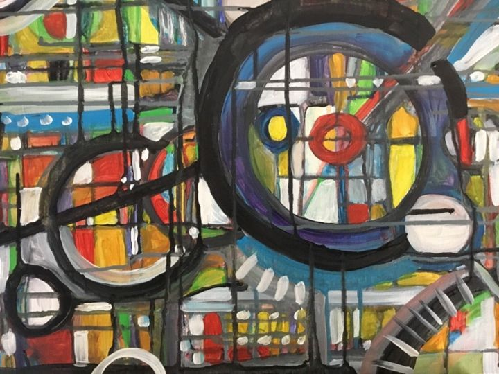 Stained Glass Crop Circles - Odessy Art
