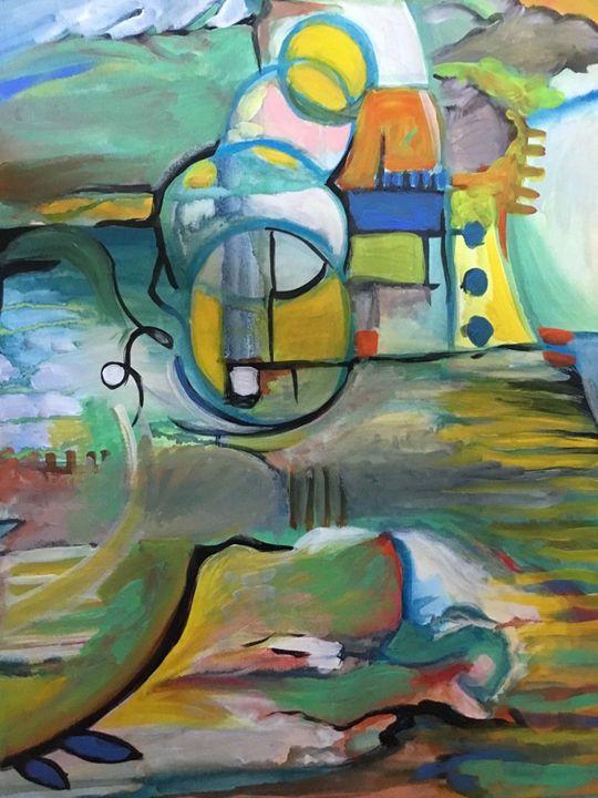 Green Fields - Odessy Art