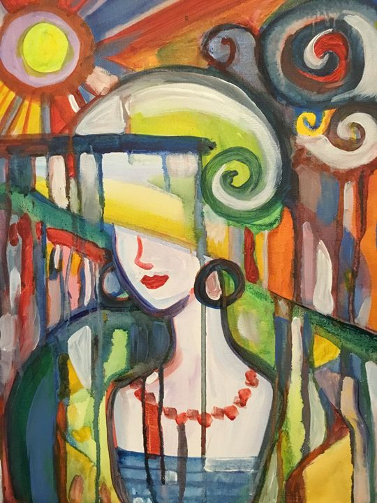 Prism Lady - Odessy Art