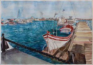 Yacht port Marina Dinevi