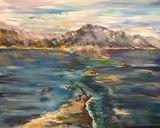 Big sea painting