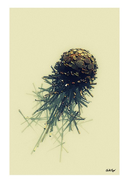 Metal Comet - Chris Fryer Art