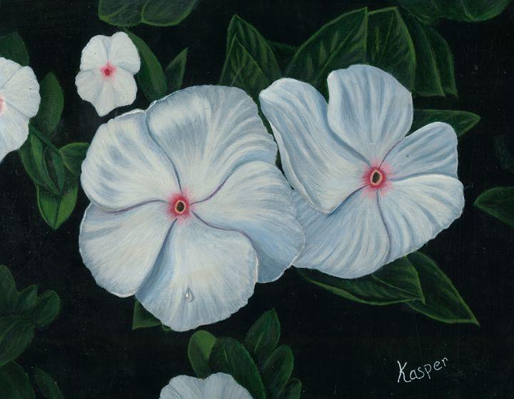 white bloosoms - Kasper Gallery
