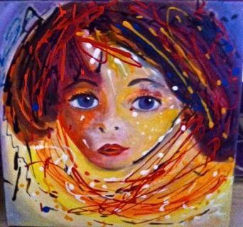 La fillette rousse- The redhead girl - Malou's Gallery