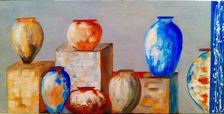 Les jarres - Malou's Gallery