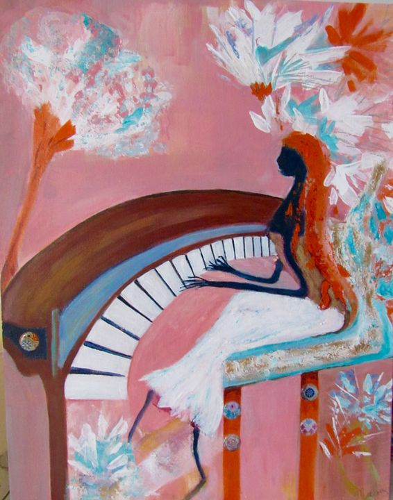 The Pianist - Malou's Gallery