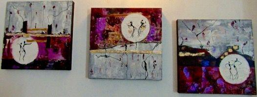 Musical Trio - Malou's Gallery