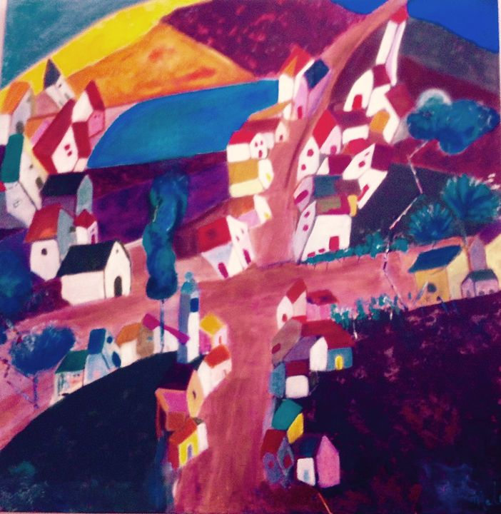 The loose village - Malou's Gallery