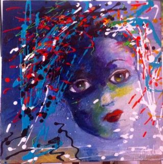 The blue child - Malou's Gallery