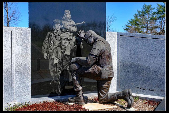 Soldier Kneeling - constance lowery