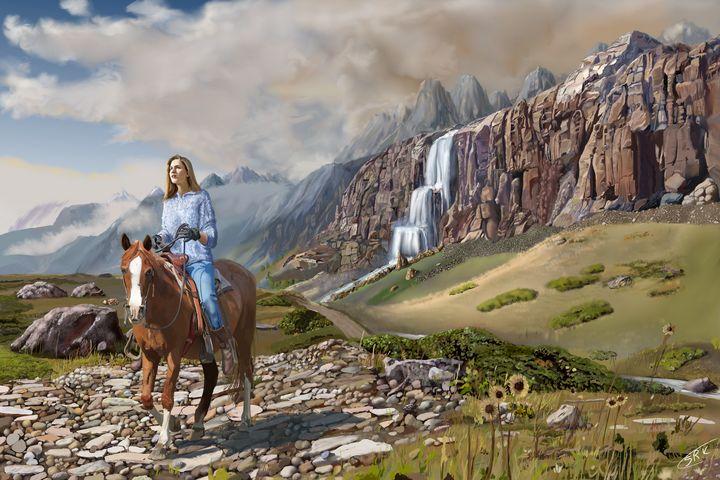 Mountain Ride - HerkPaints