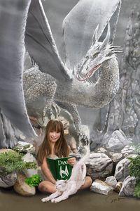 Dragon Girl - HerkPaints