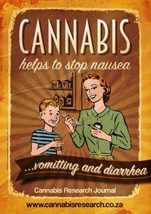 Cannabis stops the runs