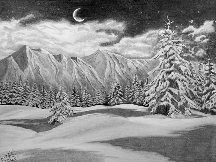 Majestic Moonlight - Marcel Arts