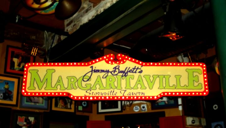 Margaritaville sign - betZ editZ