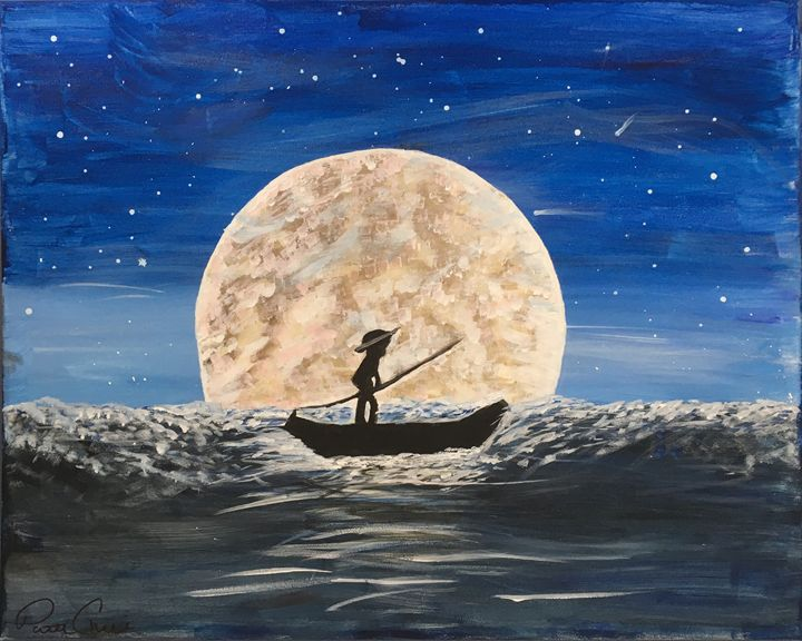FULL MOON BOAT RIDE - Pattie Chille