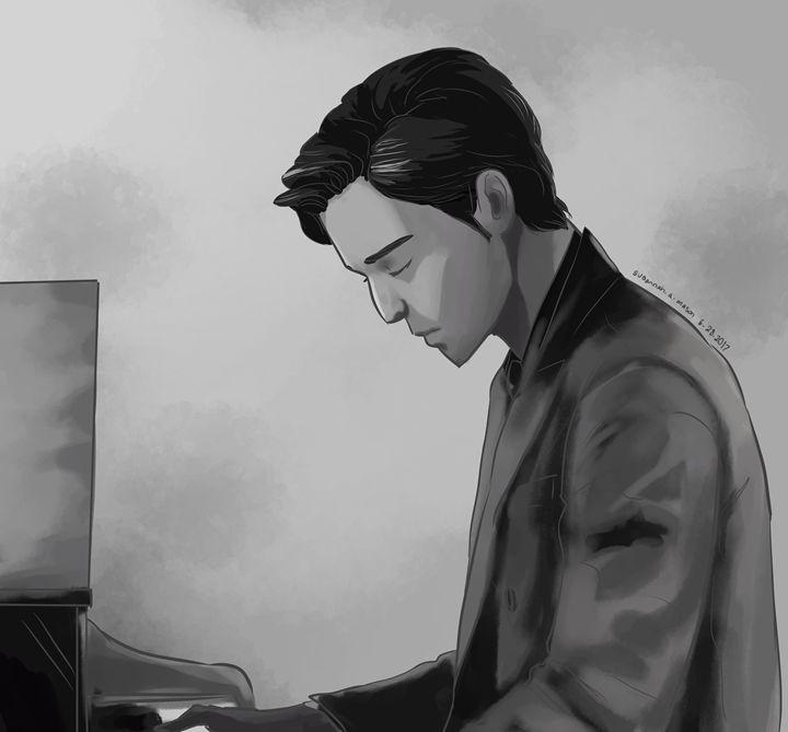 The Piano Man - Dannah Dino