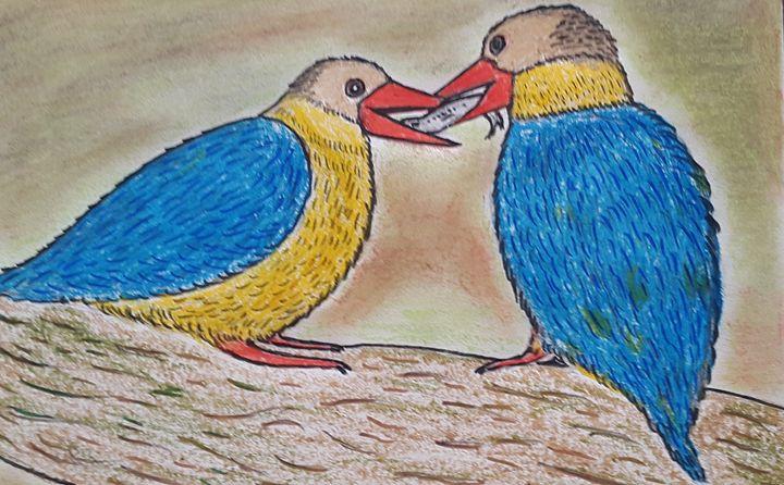 Kingfisher Birds - Amitava0112