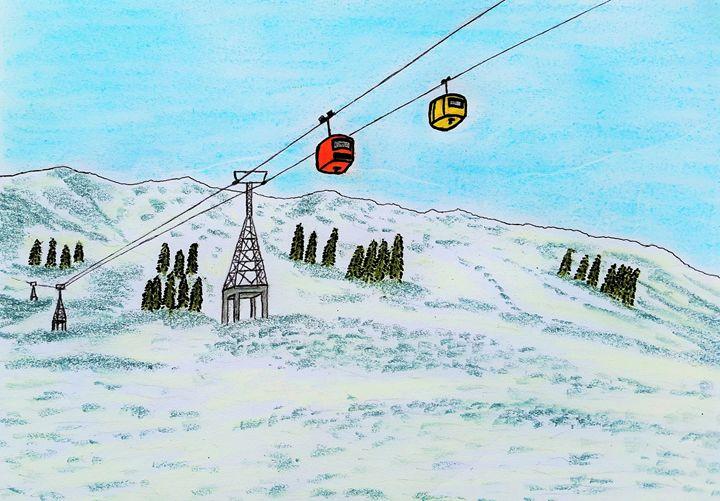 Gulmarg Hill station in snowy winter - Amitava0112