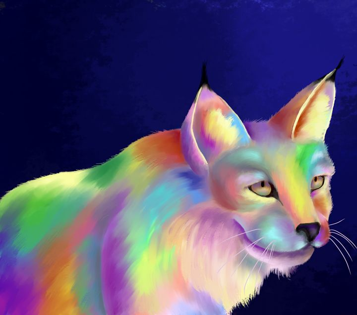 Colorful Cat - Alexis Wilson