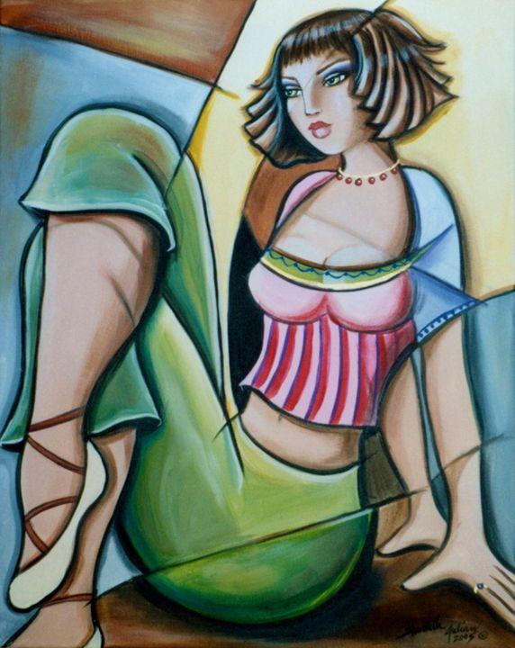 Dancer ar Rest - Shantelle Knight