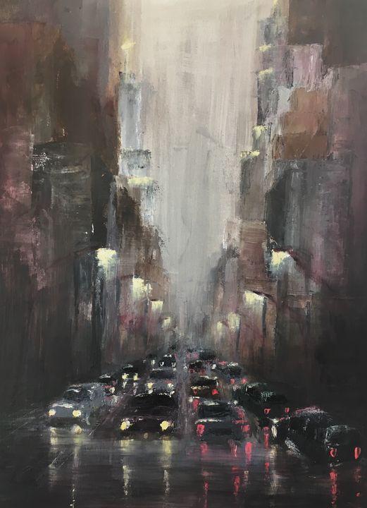 Rainy City - Gabriela Higashi