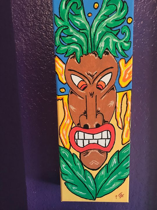 Angry Tiki - Peter Marzano