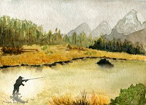 Fly Fishing on the Snake Rivier