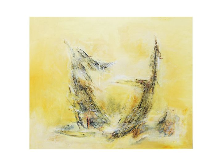 """untitle - paintings """"abstract and tradition painting """""""