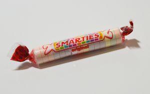 Smarties Candy Studio Shot