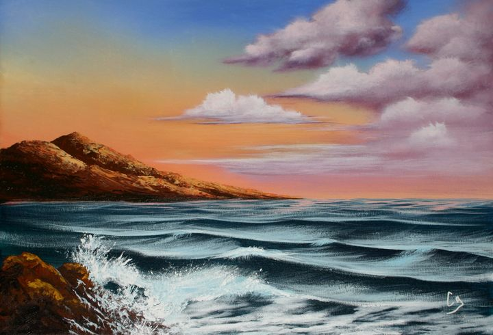 Rocks and Waves - Craig Granato Fine Art