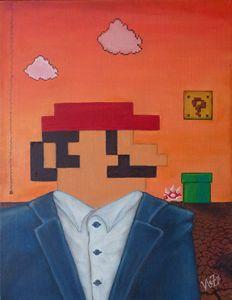 Mario's sunset