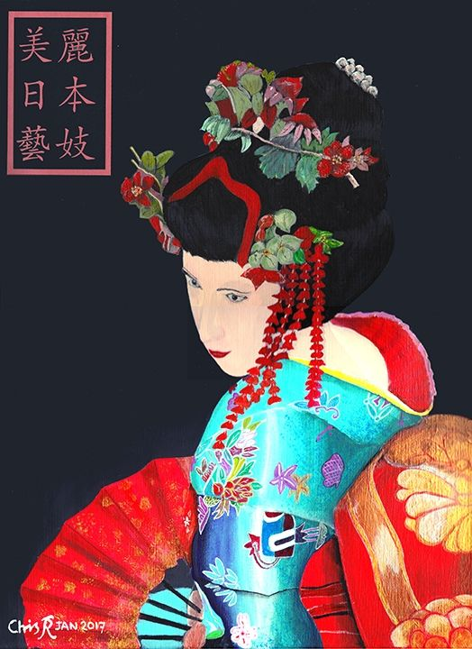 Japanese Geisha - Chris Sheppard
