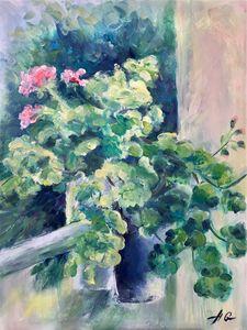 """""""Geranium on the balcony"""""""