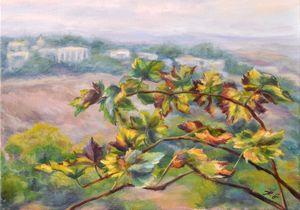 Vineyard_oil on canvas