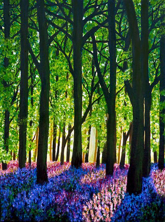 Bluebells In Bloom - Linzi Sayles