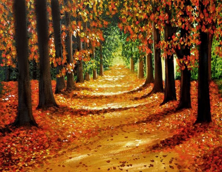 Autumn Walk - Linzi Sayles