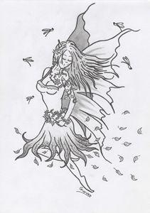 Fantasy Fairy draw 2