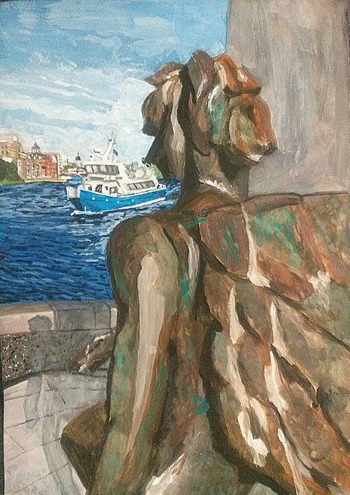 Angel of Nacka Strand - Jovan's Art